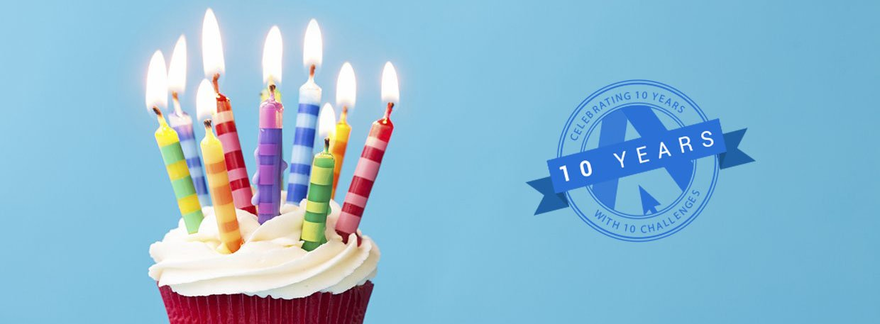 Celebrating 10 years of Web Design in Leeds