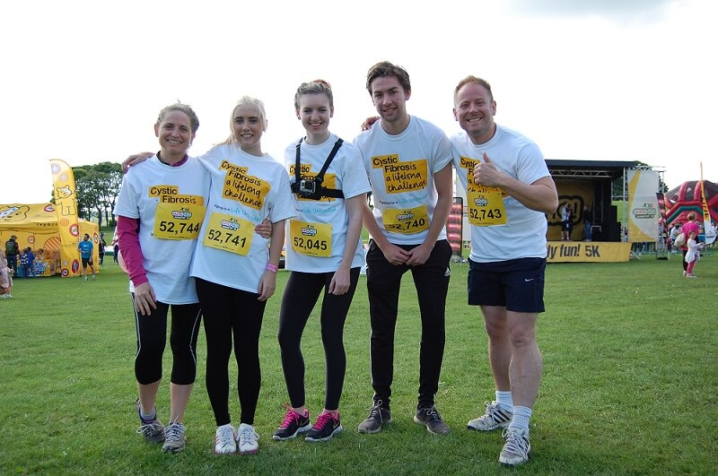 Gung-Ho 2017 – Raising money for The Cystic Fibrosis Trust