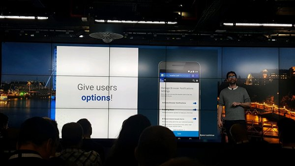 Progressive Web App Roadshow London