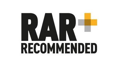 We are RAR recommended!