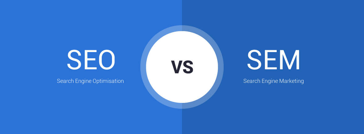 What are the differences between SEO vs SEM?