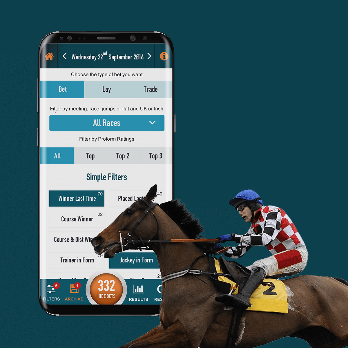 Proform Racing Bet Finder