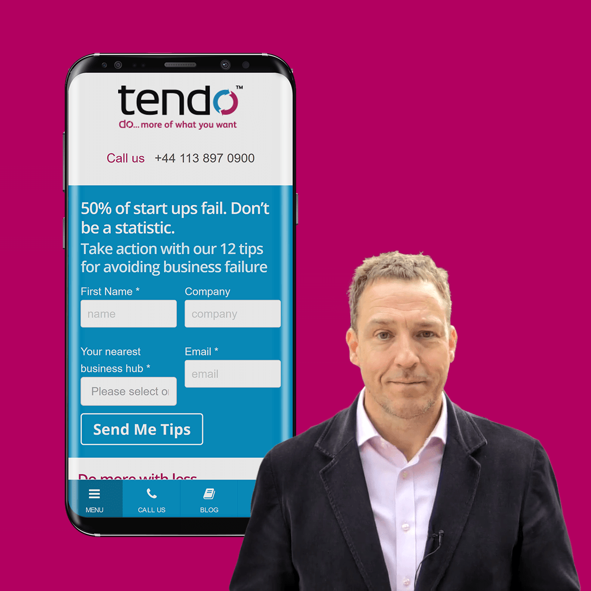 Tendo - Web Design